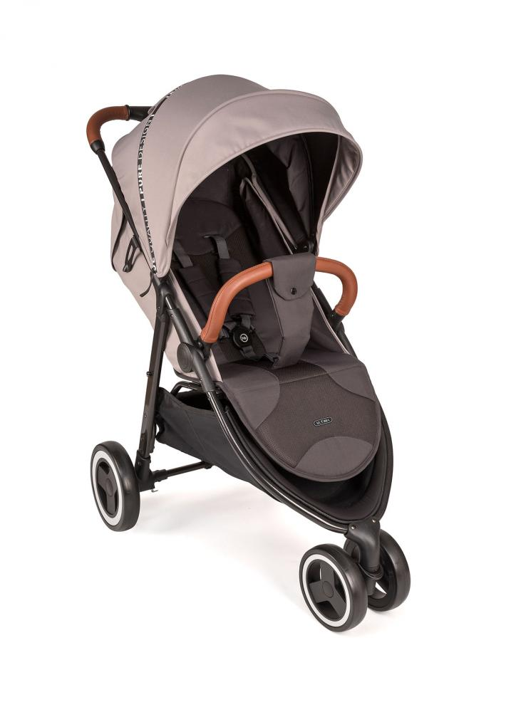 Happy Baby Прогулочная коляска прогулочная ULTIMA V3 light grey