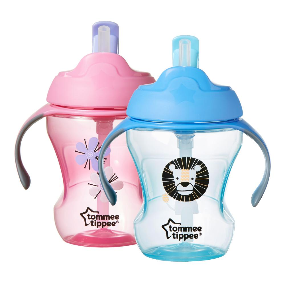 Tommee Tippee чашка-непроливайка с трубочкой Explora Easy Drink с 6 месяцев