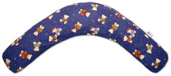 "Theraline чехол на подушку ""Медведи"" синий  170 см от olant-shop.ru"