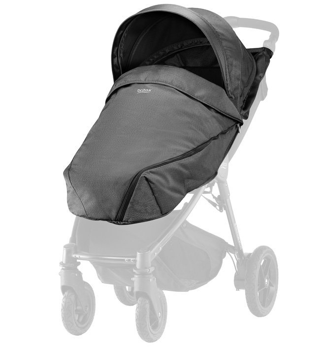 Britax Капор и накидка Black Denim для коляски B-Agile/ B-Motion 4 Plus