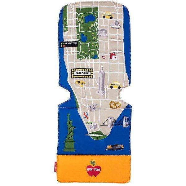 MACLAREN матрасик в коляску New York City Map MACLAREN_матрасик
