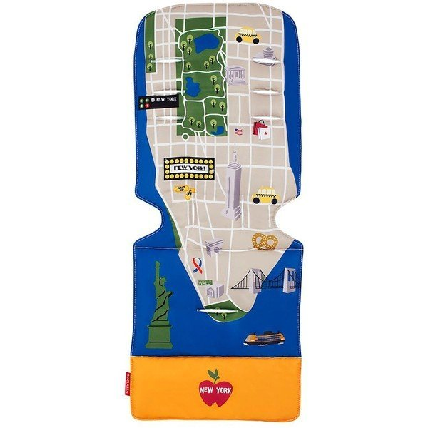 MACLAREN матрасик в коляску New York City Map от olant-shop.ru