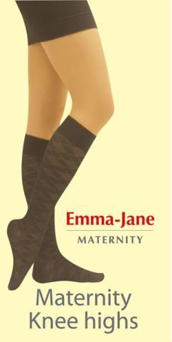 Emma Jane гольфы,ромбик, цвет черный 70 den (EMMA JANE)