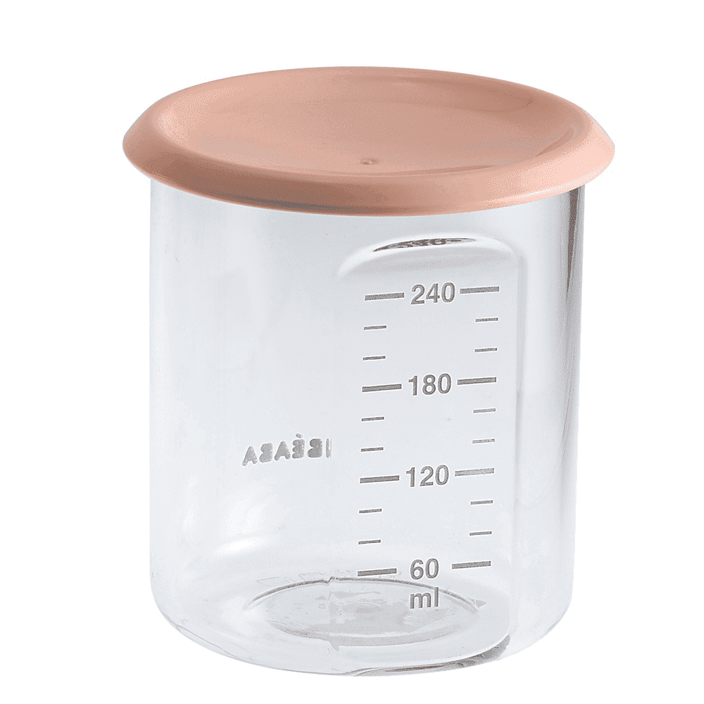 BEABA контейнер для хранения MAXI 240 мл NUDE