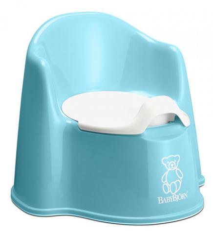 Горшки, сидения на унитаз BABYBJORN BABYBJORN горшок-кресло кресла качалки шезлонги babybjorn кресло шезлонг bliss mesh