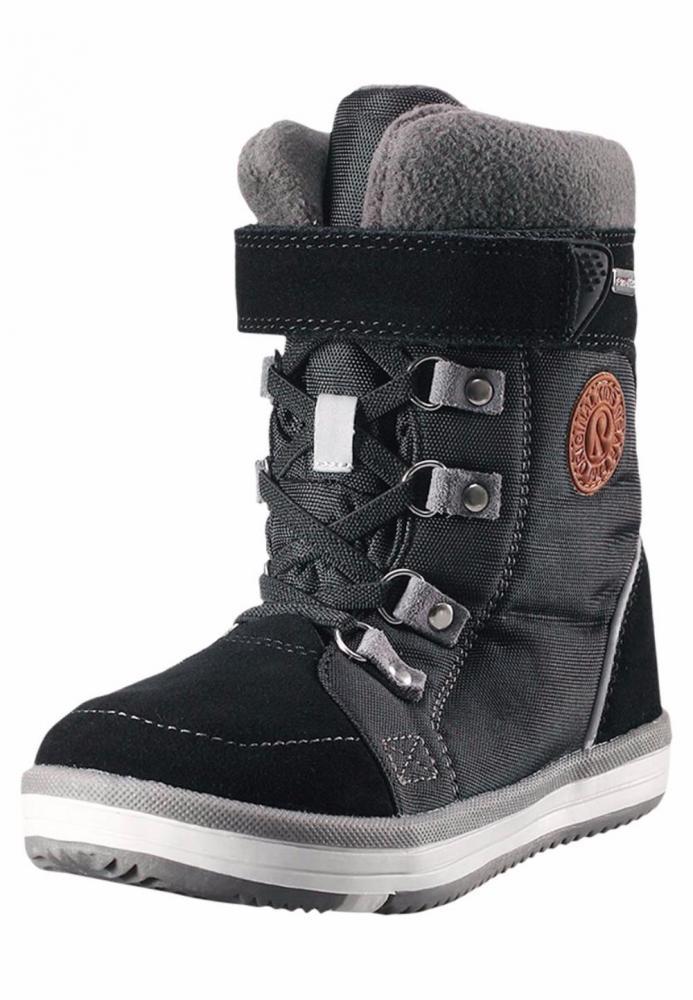 Обувь, носки, пинетки, REIMA ботинки зимние водонепроницаемые FREDDO Reimatec черные р.32  - купить со скидкой