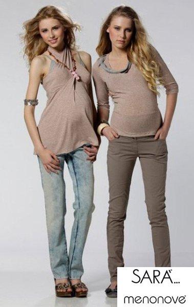 3e9c87305b518 Весенняя распродажа стильной одежды для беременных MENONOVE и SARA
