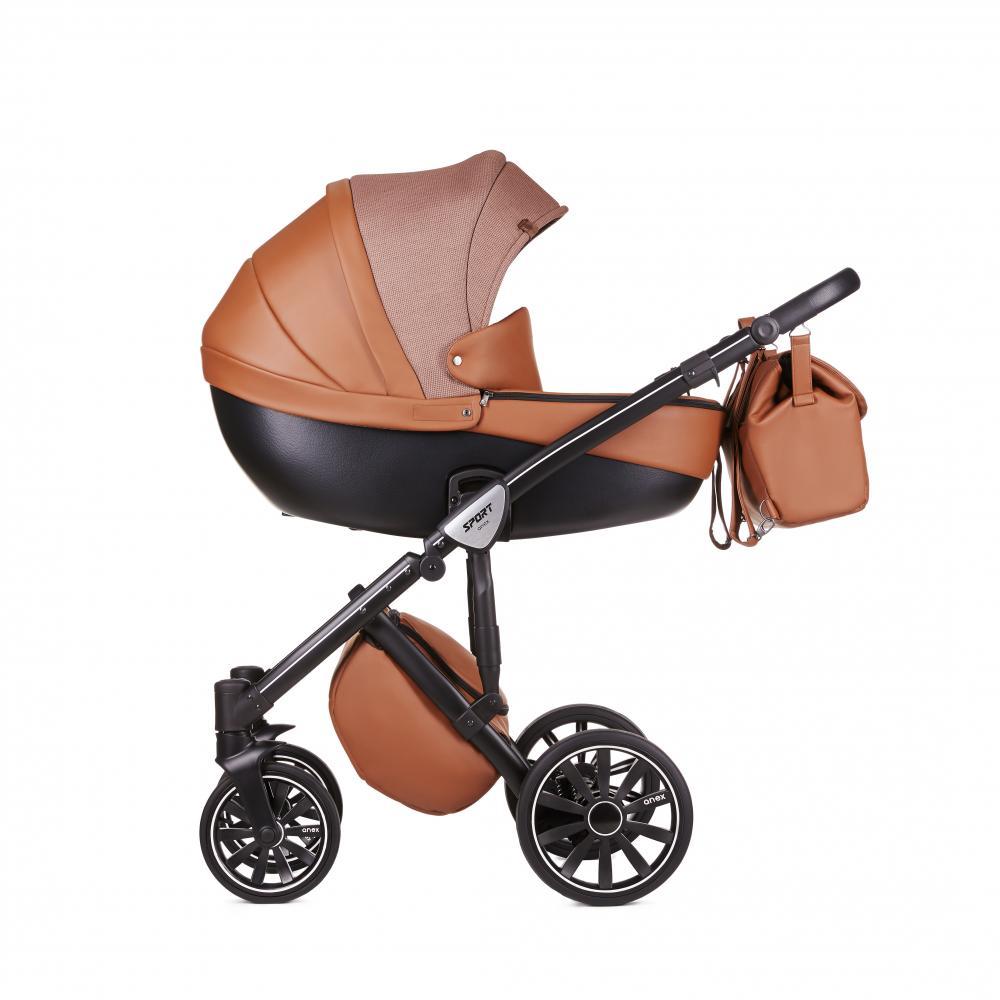 Купить Коляски для новорожденных, ANEX Коляска 3 в 1 SPORT Q1 (SE01) desert haze