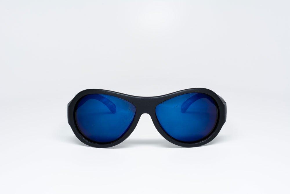 BABIATORS очки солнцезащитные Aces. Спецназ (Black Ops). чёрный, cиние линзы (7-14)