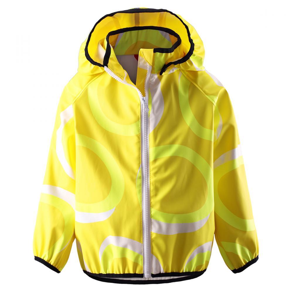 REIMA куртка для дождливой погоды Kupla желтая р.116
