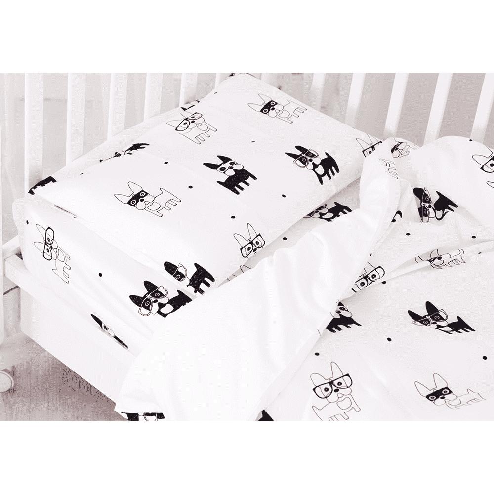GREEN SARDINE Комплект постельного белья Hot Doggy с овальной простынкой