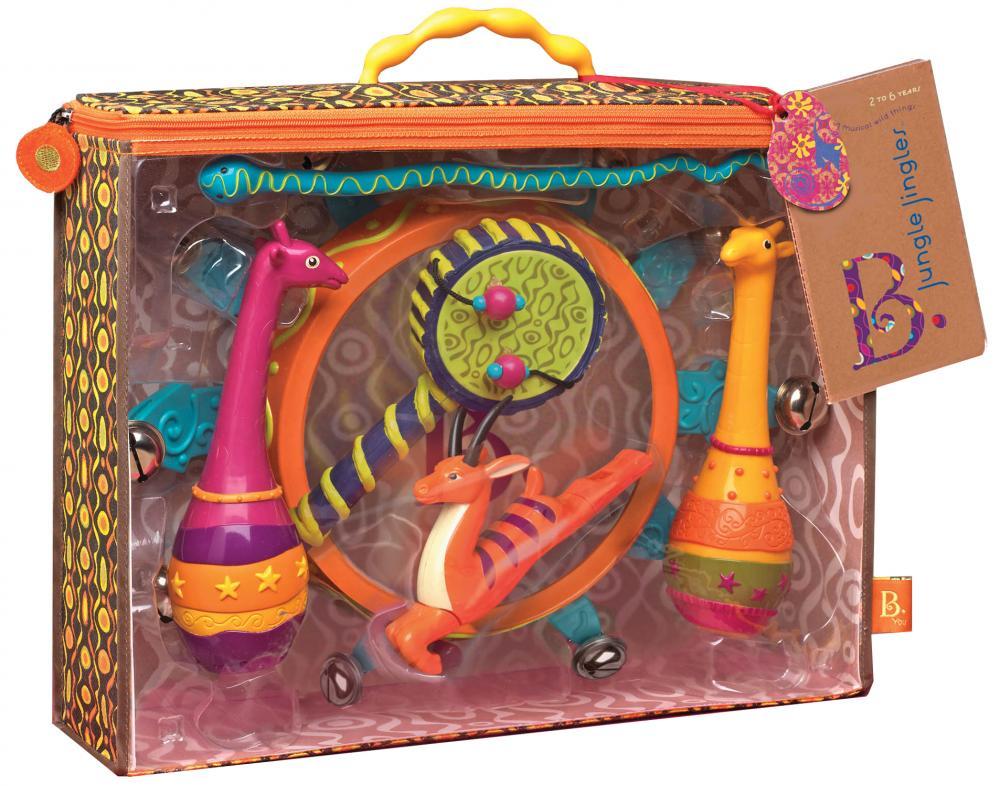 """Купить со скидкой Battat b.dot набор музыкальных инструментов """"мелодия джунглей"""""""