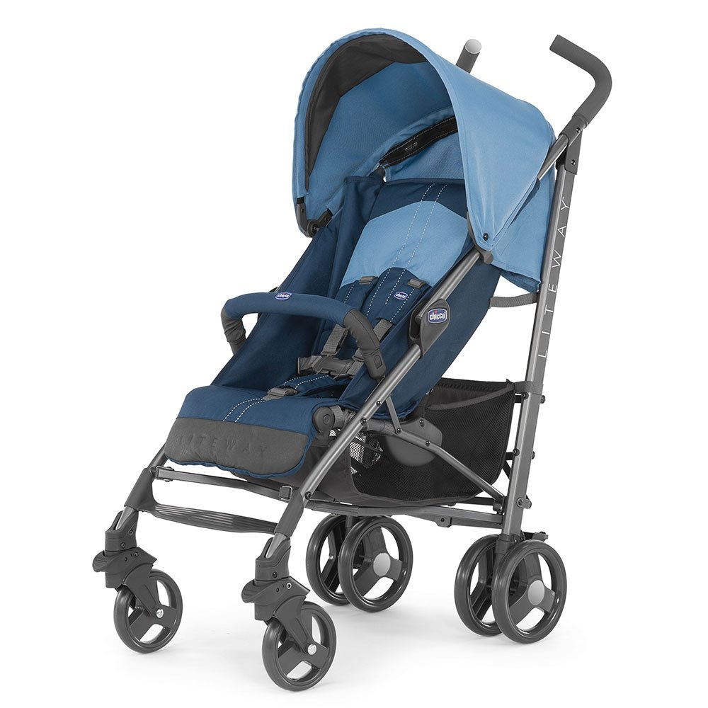Chicco Коляска прогулочная LITE WAY 2 TOP BLUE