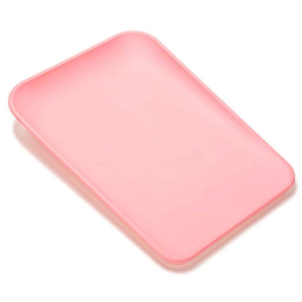 LEANDER пеленальный матрасик розовый нежный
