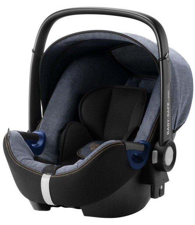 Britax Roemer Детское автокресло Baby-Safe2 i-size Blue Marble Highline