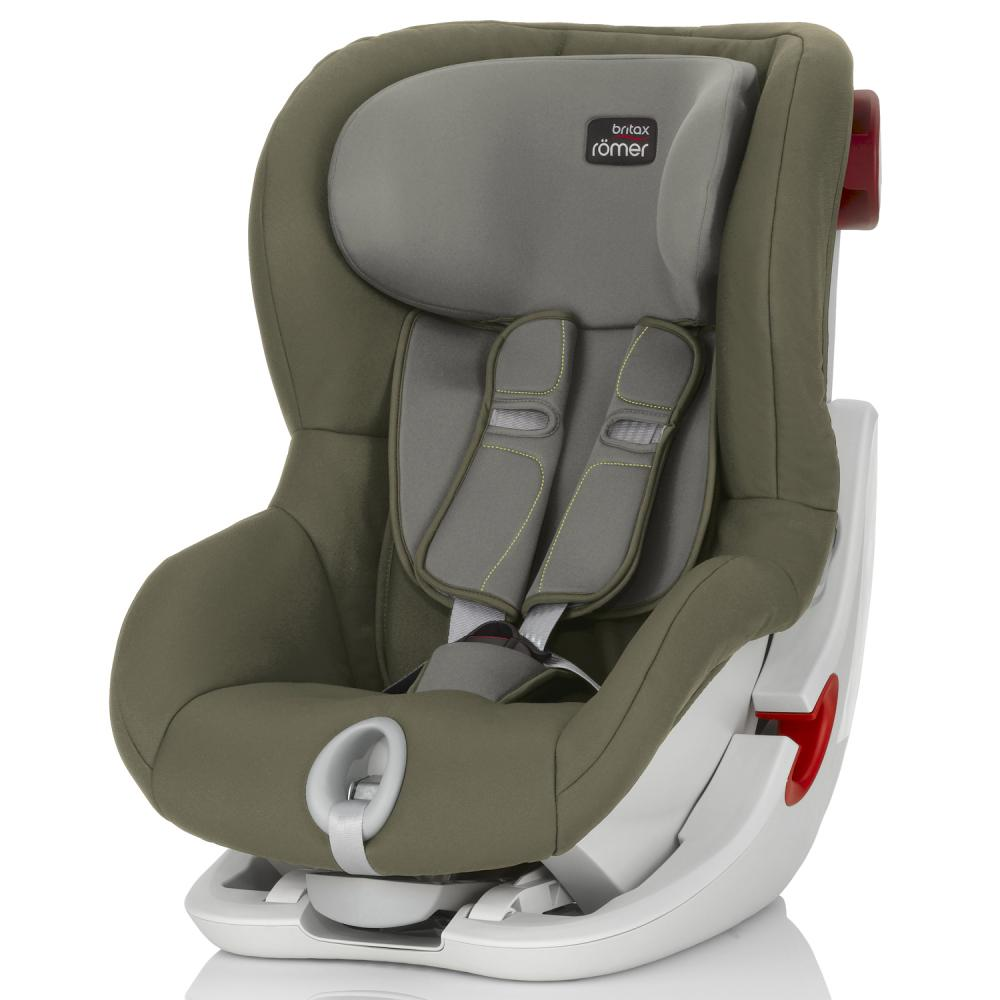 Britax Roemer автокресло KING II Olive Green(группа 1, от 9 до 18 кг)