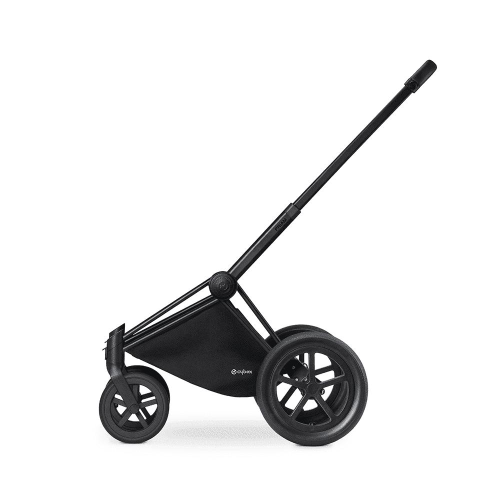 CYBEX Рама для коляски Priam Matt Black с колесами All Terrain
