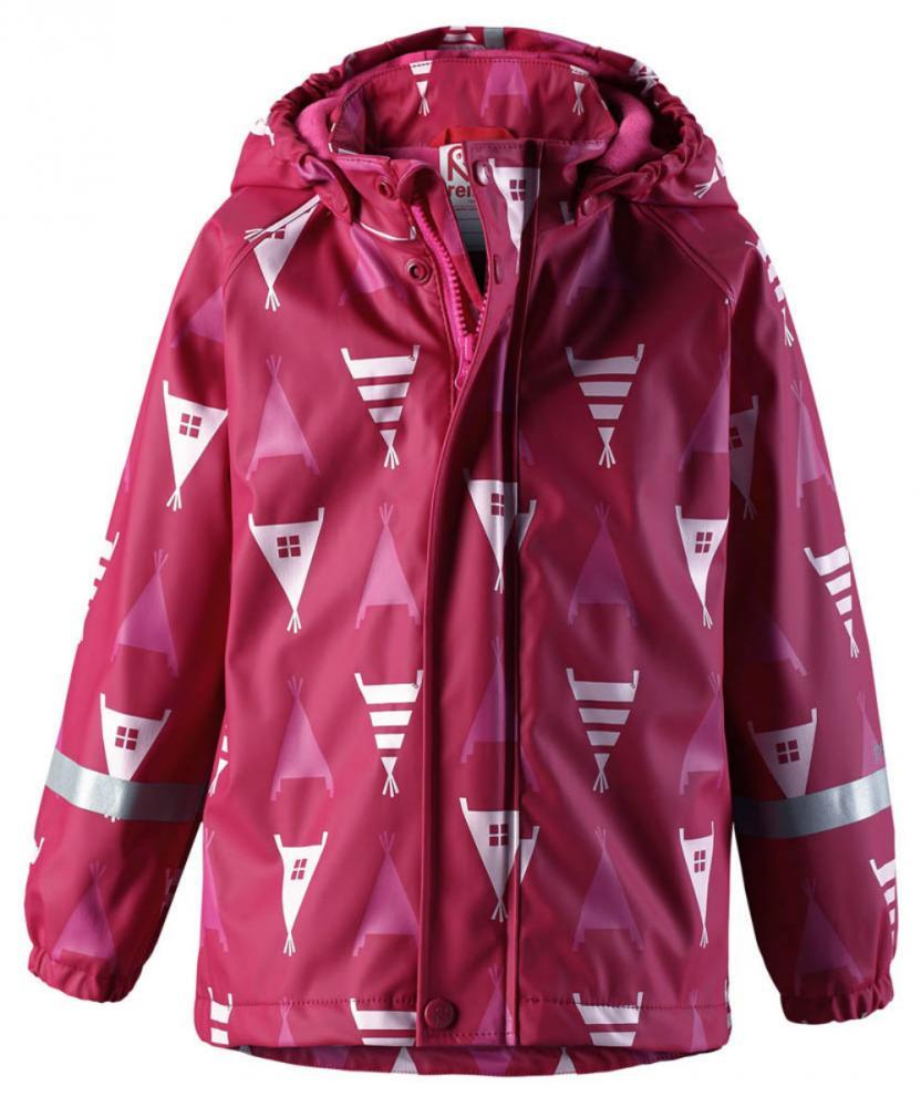 Купить со скидкой Reima плащ для дождливой погоды koski малиновый р.104