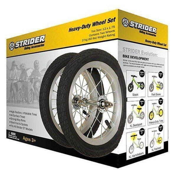 STRIDER Комплект пневматических колес (алюминий)