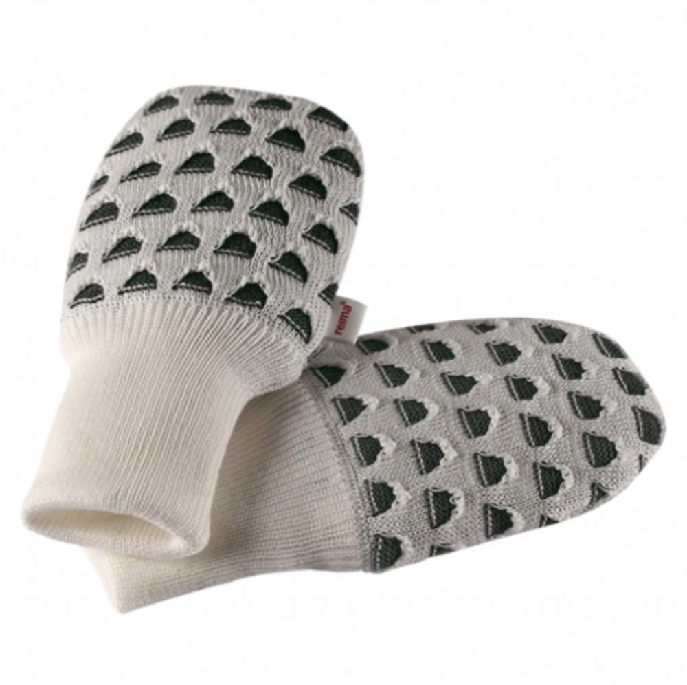 Купить Шапки, варежки, перчатки, REIMA BABY Варежки TERHO белые р.6-18мес.