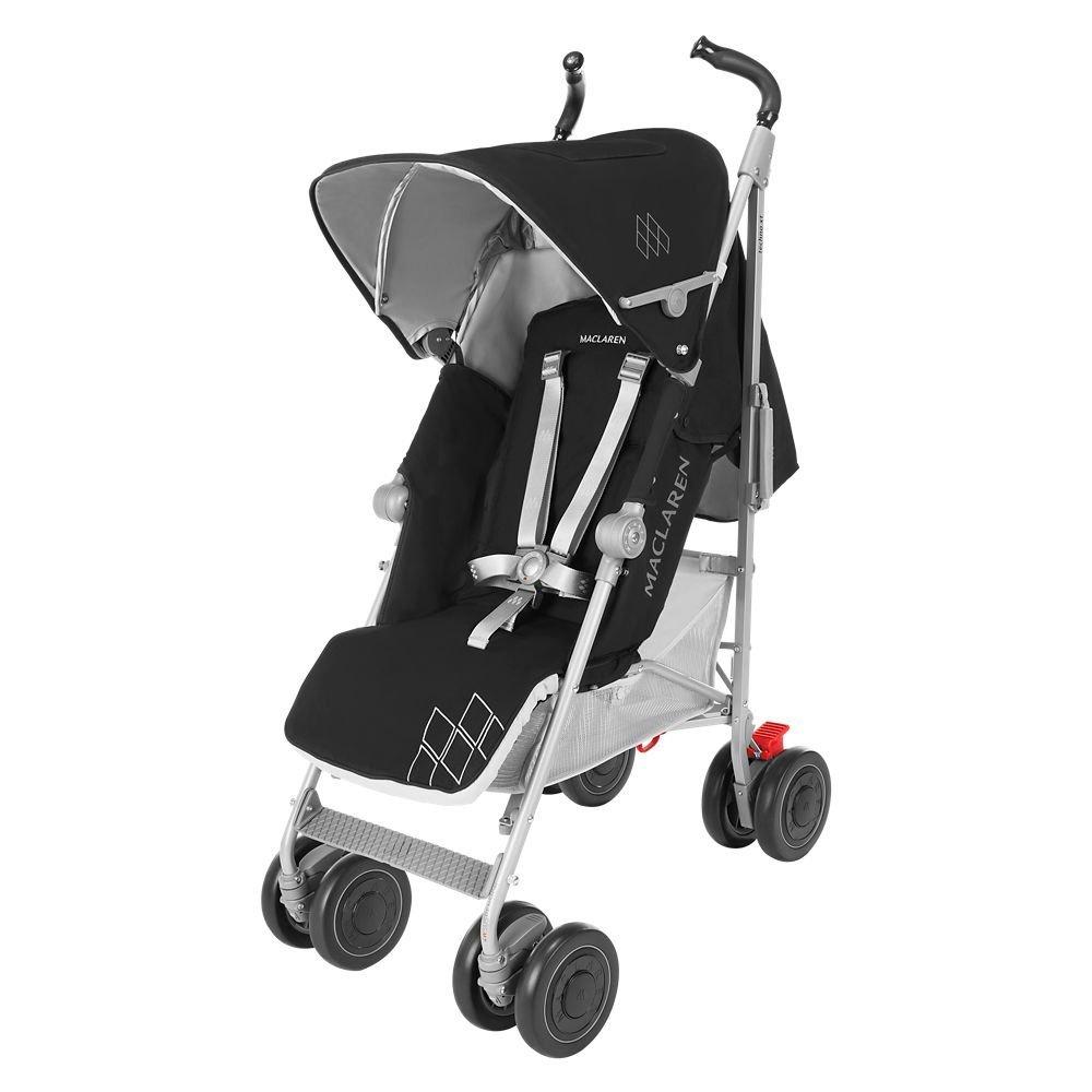 MACLAREN коляска прогулочная TECHNO XT Black/ Silver 2016