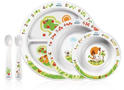 PHILIPS AVENT набор посуды для малыша от 6мес
