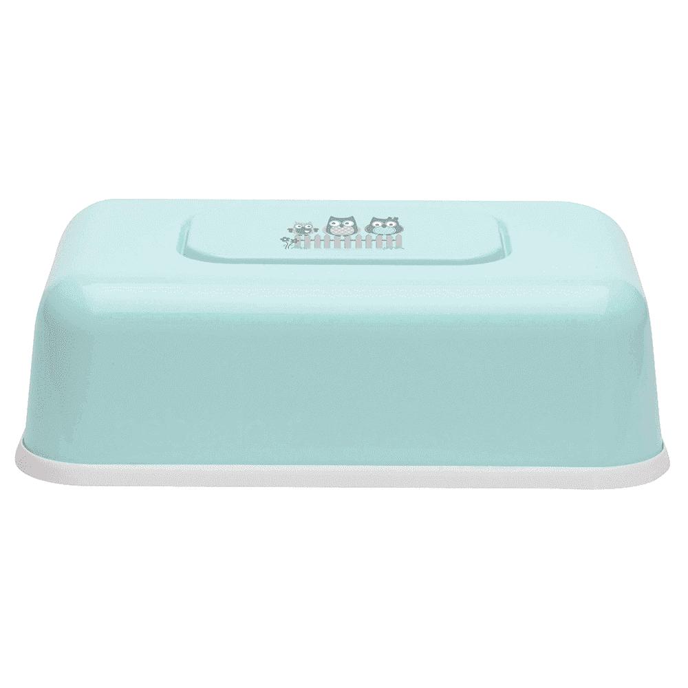 BEBE JOU футляр пластиковый для влажных салфеток ментол Совушки 6230 32