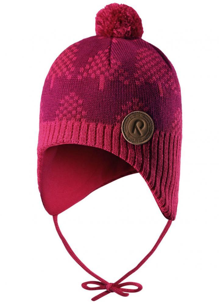 Купить Шапки, варежки, перчатки, REIMA шапка шерстяная YLLAS фуксия р.46