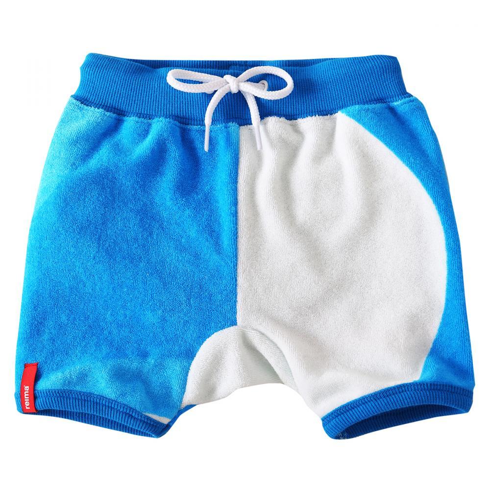 REIMA солнцезащитные шорты Marmara белые с голубым р.74