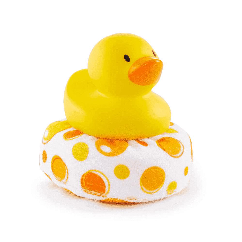 Munchkin мочалка для ванны Уточка 0+