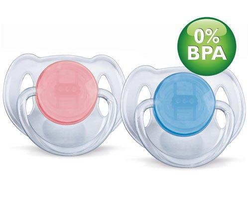 PHILIPS AVENT соска-пустышка силикон Классика 6-18 мес. (уп.2шт)  BPA-Free