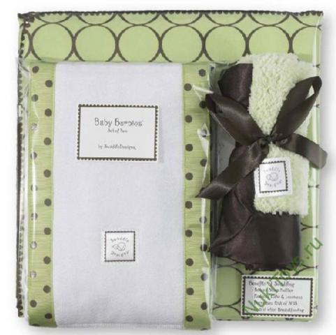 SWADDLE DESIGNS Inc. США подарочный набор для новорожденного Gift Set Lime w/BR Mod C от olant-shop.ru