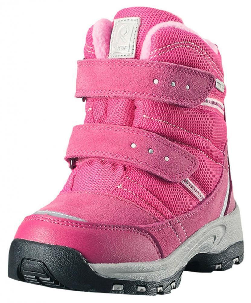 Купить Обувь, носки, пинетки, REIMA ботинки зимние водонепроницаемые VISBY Reimatec розовые р.30