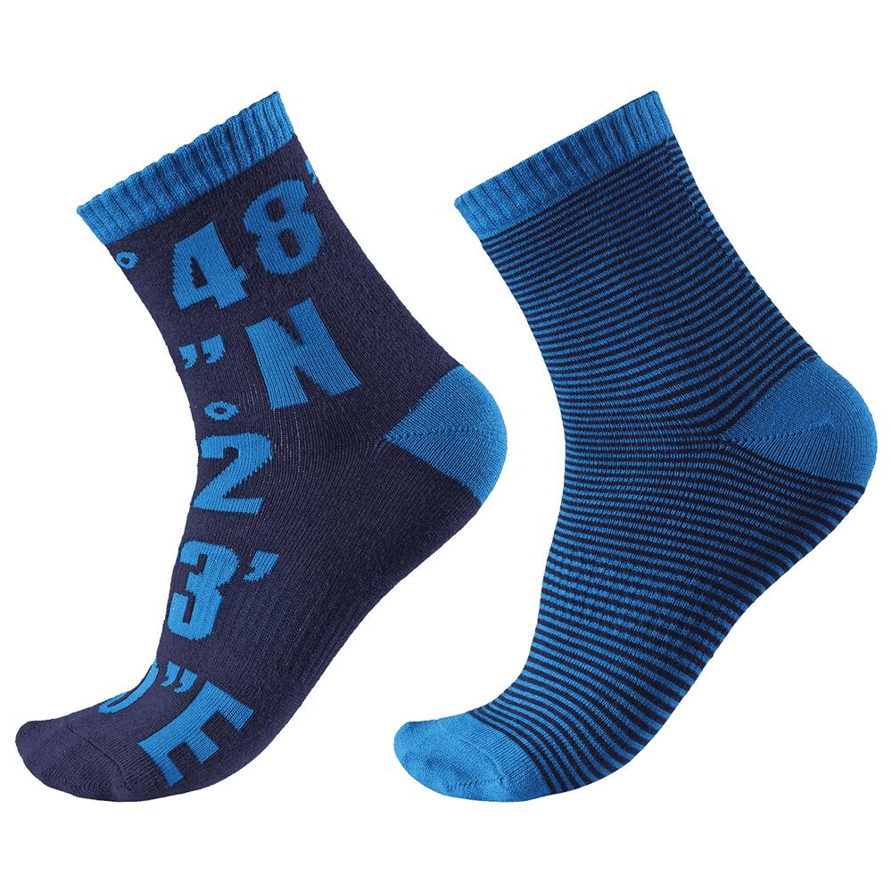 Купить Обувь, носки, пинетки, REIMA носки Kloppi синие р.34/37