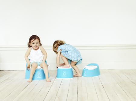 BABYBJORN стульчик-подставка бирюзовый