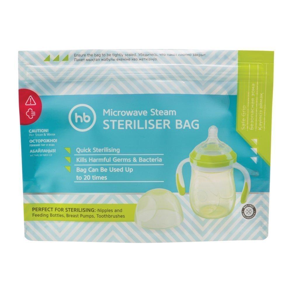 Купить Термосумки, термосы и контейнеры для еды, HAPPY BABY Пакеты для стерилизации в микроволновой печи