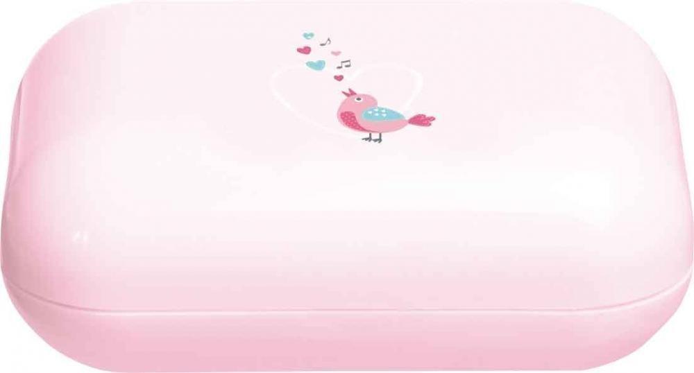 BEBE JOU мыльница нежно-розовый Птички певчие