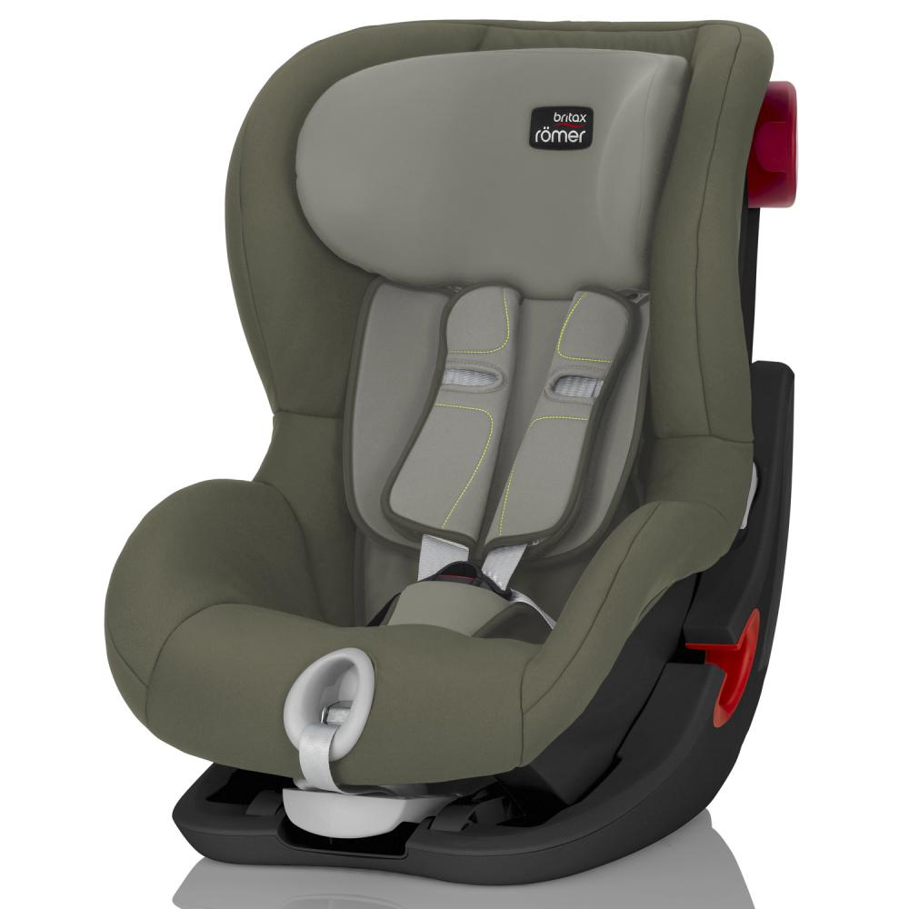 Britax Roemer автокресло KING II Black Series Olive Green  (группа 1, от 9 до 18 кг)