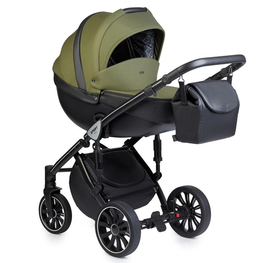 Купить Коляски для новорожденных, ANEX SPORT Коляска 2 в 1 Q1 (Sp17) british green