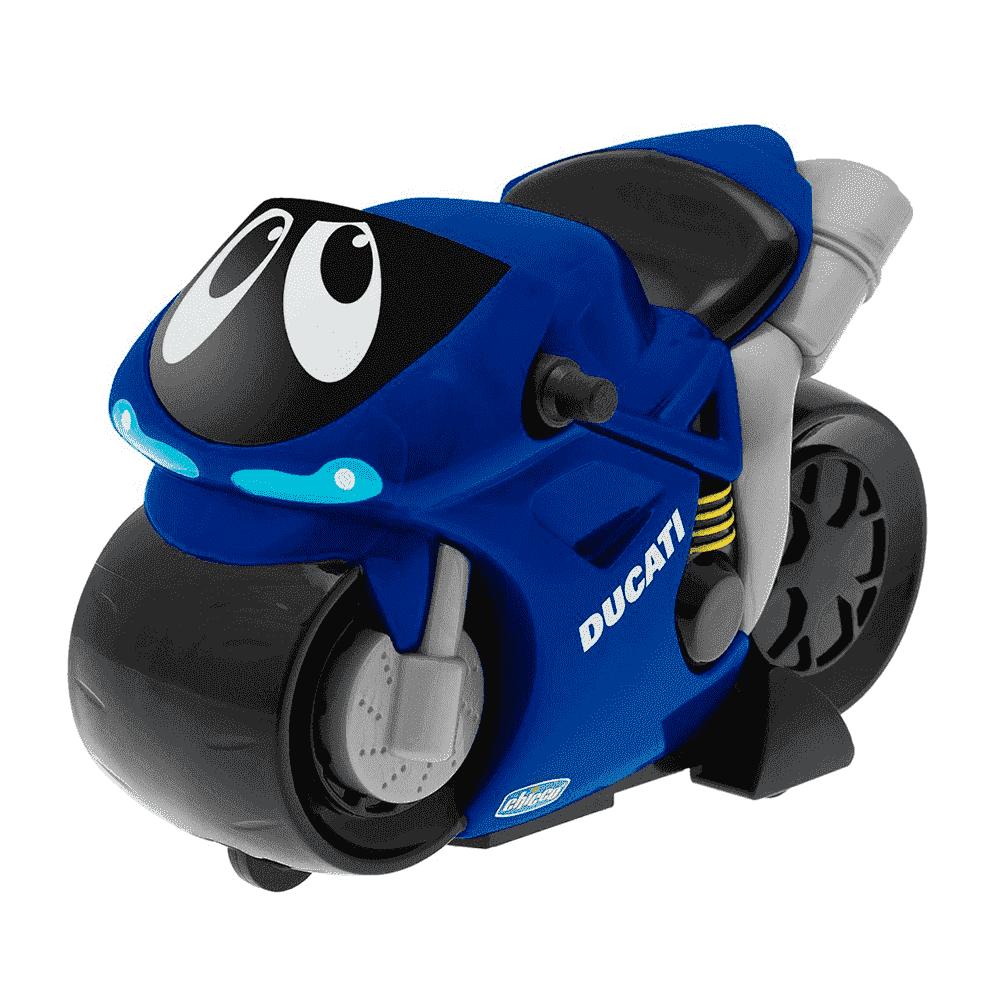 CHICCO Игрушка турбо мотоцикл TURBO TOUCH DUCATI BLUE