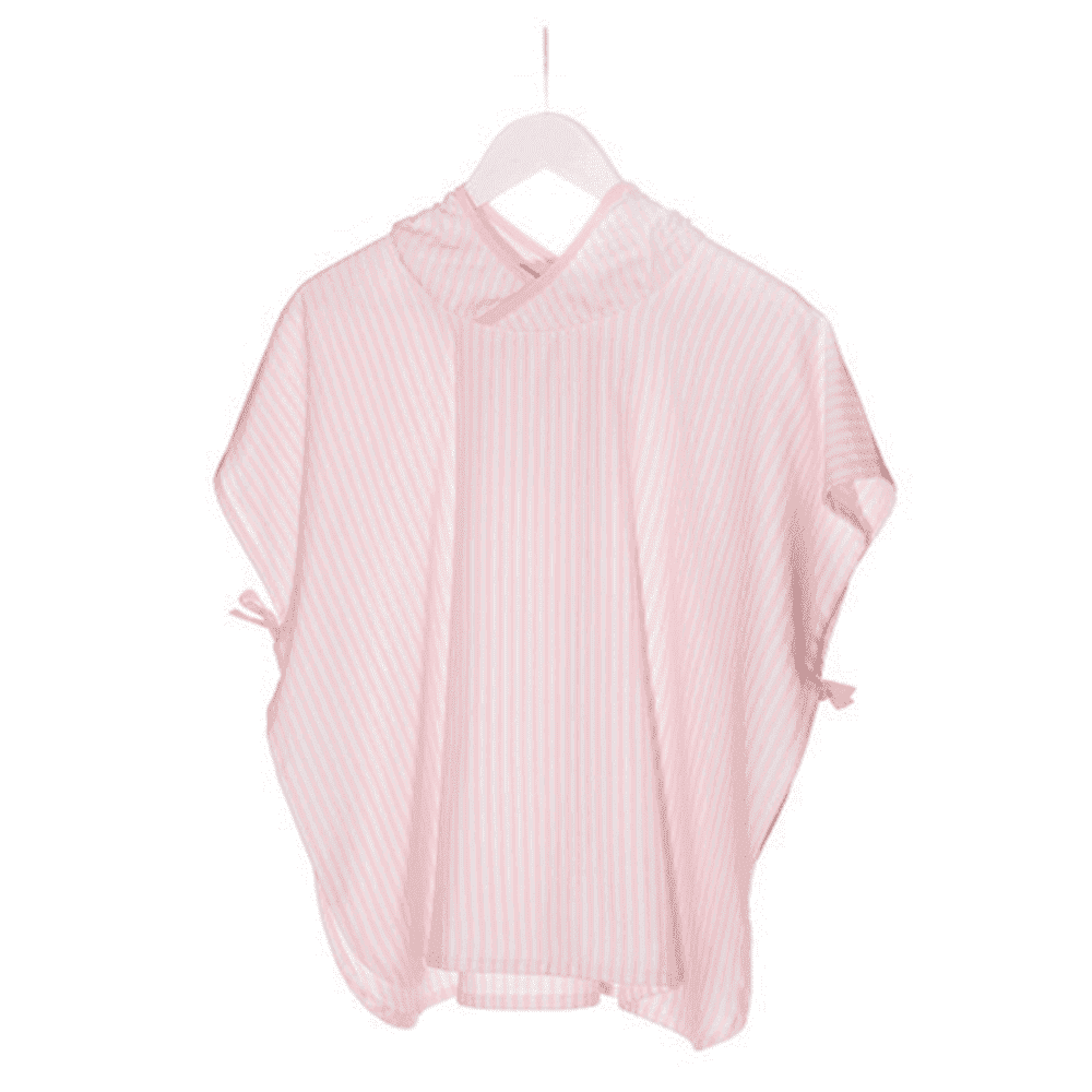 KIPKEP полотенце-пончо М  3-5 лет, нежно-розовый