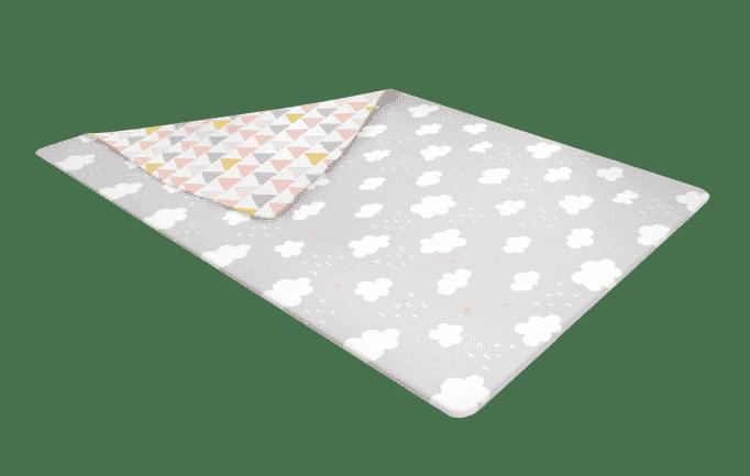 Ggumbi коврик 140х200х1,4 игровой pvc fjord cloud