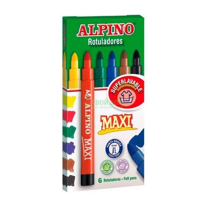 ALPINO ���������� MAXI c ��������� �������� � ��������, 6 ��, 6 ������