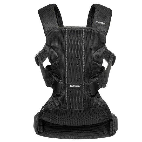 BABYBJORN рюкзак для переноски ребенка ONE Air черный