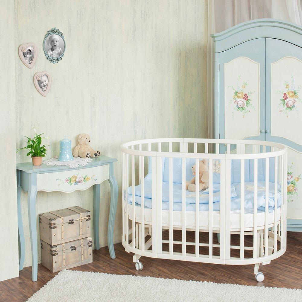 Купить Детские кроватки, NUOVITA Кровать-трансформер Nuovita NIDO MAGIA (ваниль)