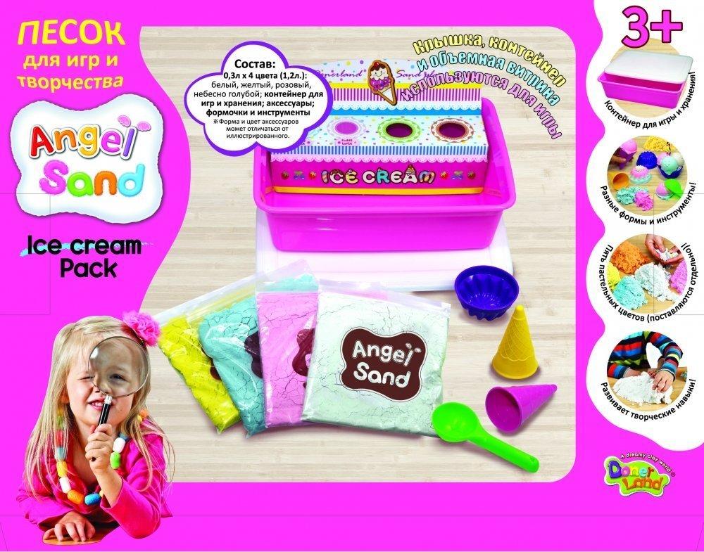 ANGEL SAND ����� ����� ��� ���� � ���������� Ice Cream Pack