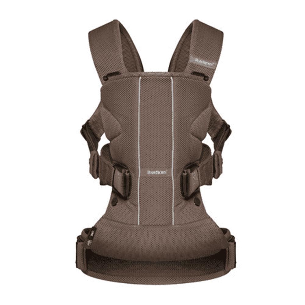 Купить со скидкой BABYBJORN рюкзак для переноски ребенка ONE Air Mesh Какао