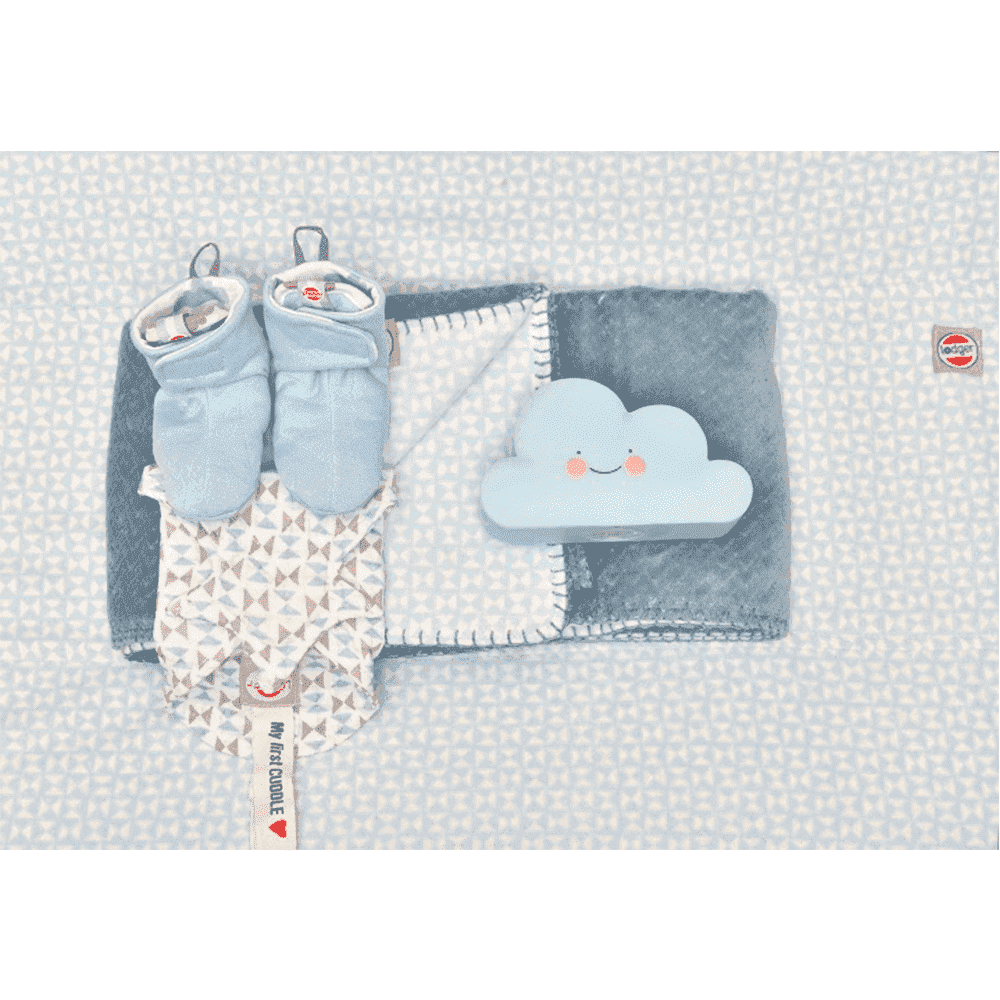LODGER чехол на матрасик для пеленания Scandinavian Flannel Mist