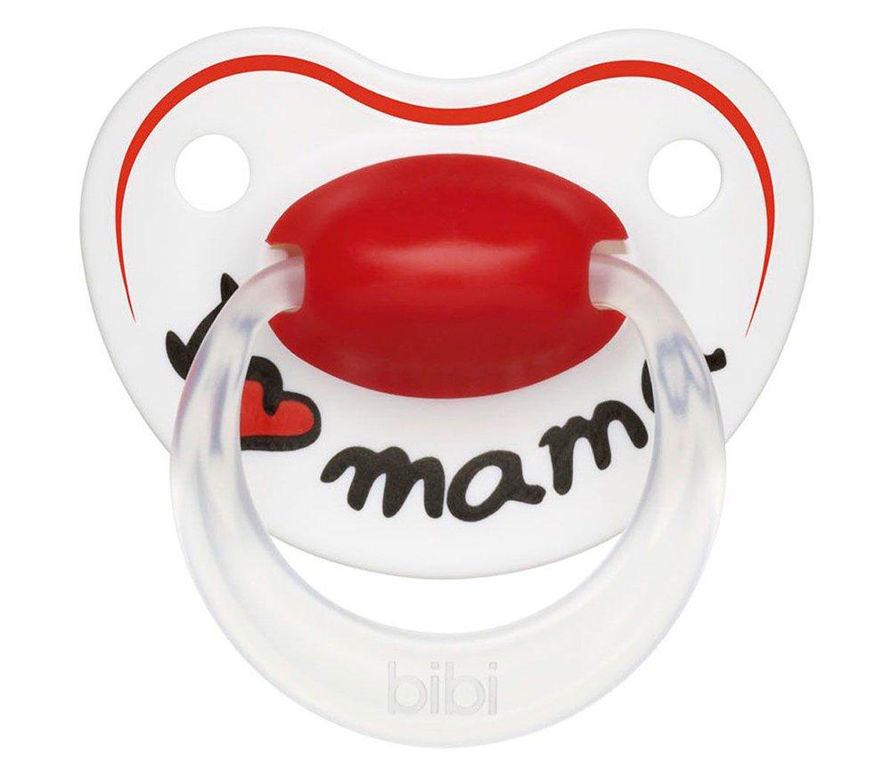 BIBI пустышка Premium Dental силикон 0-6 мес. Happiness Mama (0216/1220) 113215