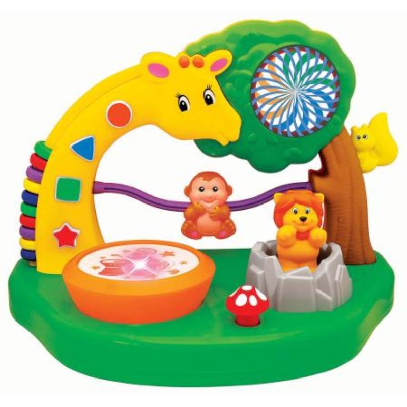 С музыкой и голосами животных KIDDIELAND радиоуправляемые игрушки kiddieland развивающая игрушка гонщик с пультом управления